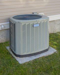 Pompes à chaleur installées dans un chauffage d'une maison
