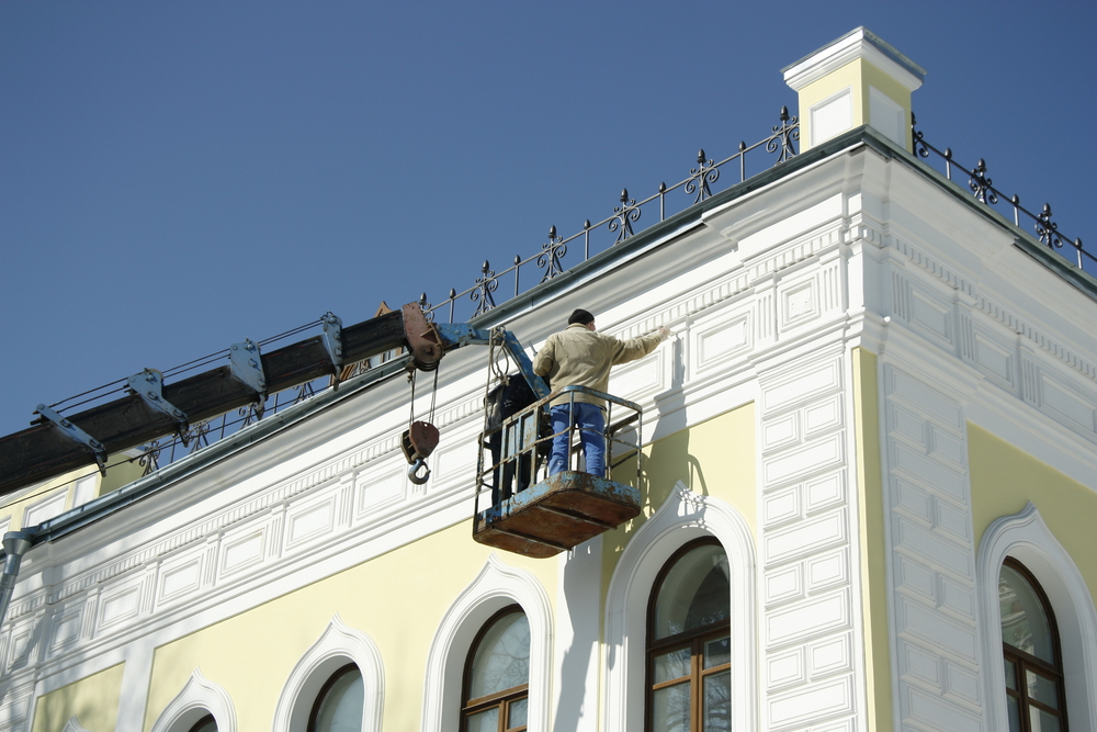 Renovation d'une maison par un ravalement de façade